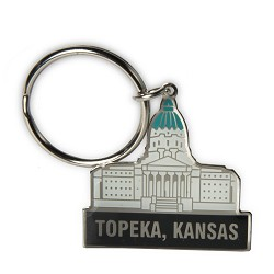 Capitol Key Ring (Topeka, Kansas)