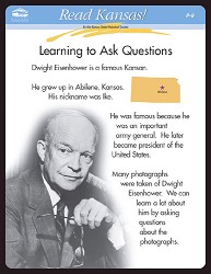 Read Kansas! Learning to Ask Questions P-9 P-9 Grade 1