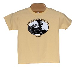 Train youth t-shirt Yellow Y- Large