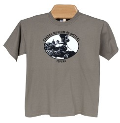 Train youth t-shirt Prairie Dust Y - X Small
