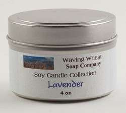 Lavender Soy Candle 4 oz