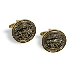 Golden State Seal Cuff Links