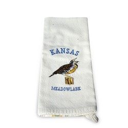 Kansas Meadowlark Tea Towel - MC