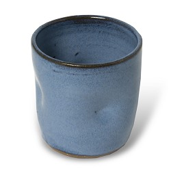 Blue Stone ware mug w/ dimples