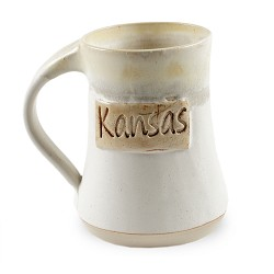 Kansas Mug White 10 oz