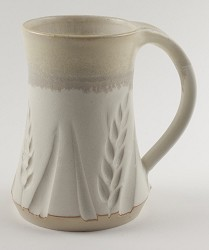 Wheat Mug White 10 oz