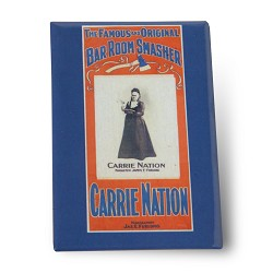 Carrie Nation Magnet Carrie Natio 3 inch
