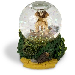 Cowardly-Lion Waterglobe Oz 45mm
