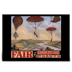 Cawker City Fair Print