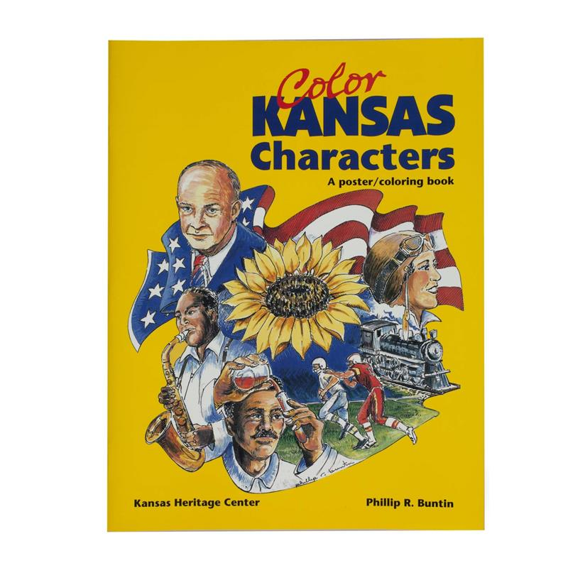 Color Kansas Characters