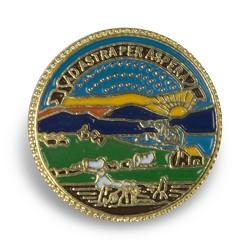 Kansas State Seal pin