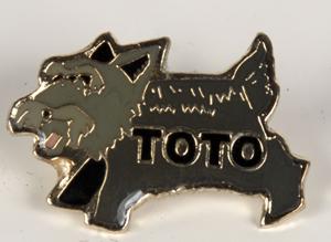 Toto Lapel Pin,P150C