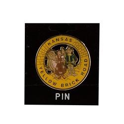 Yellow Brick Road Lapel Pin