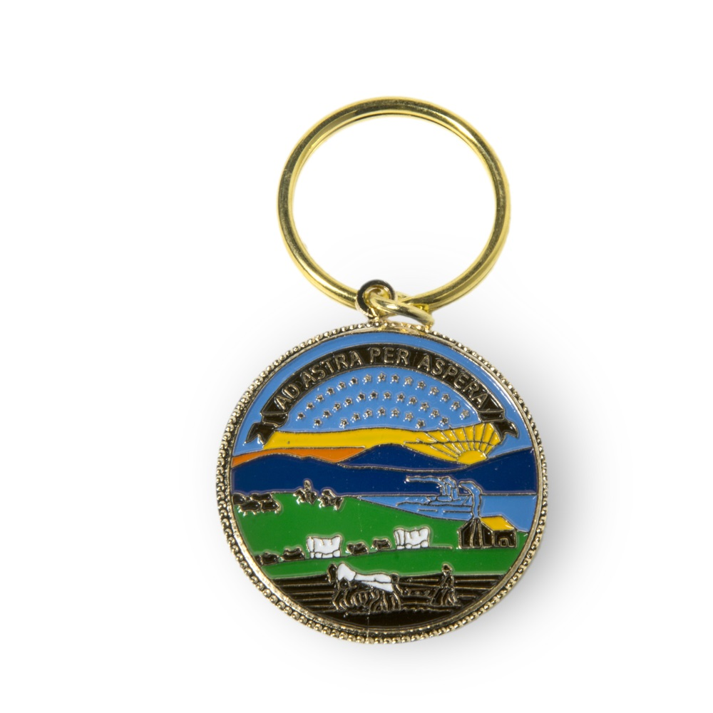 State Seal Key Ring,1127E
