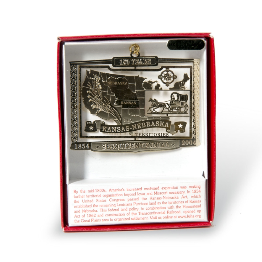 Kansas/Nebraska Territory Ornament