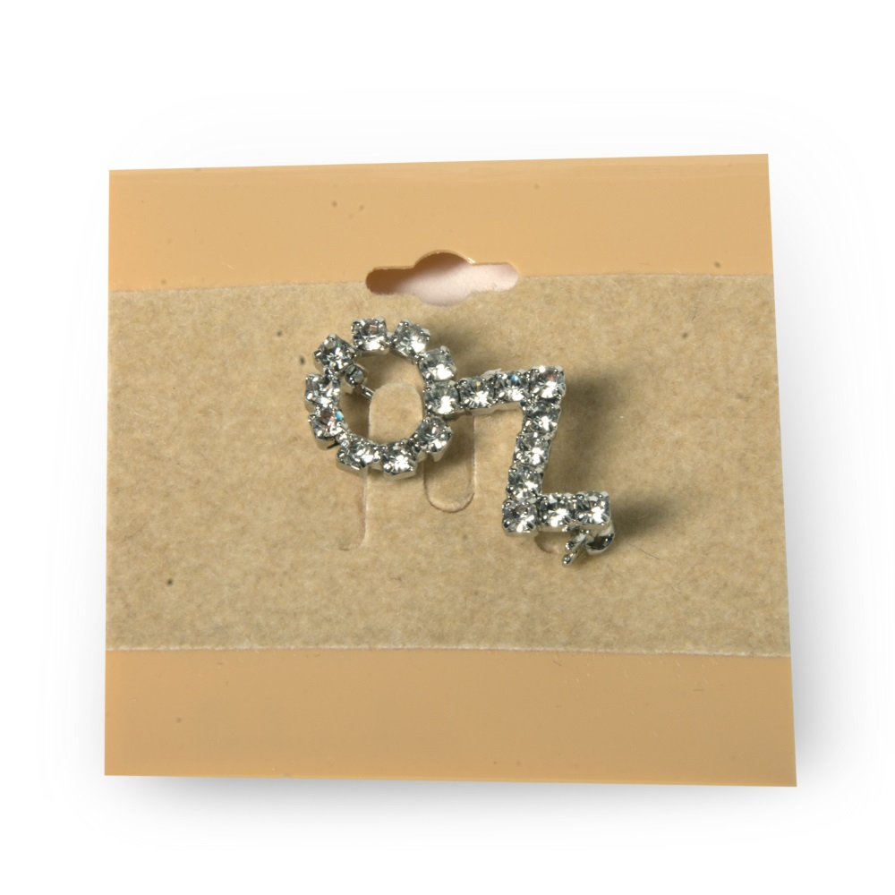 Jeweled Oz Pin