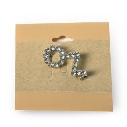 Jeweled Oz Pin