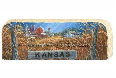 Kansas Farm Limestone,265