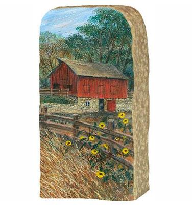 Red Barn on Stone,308