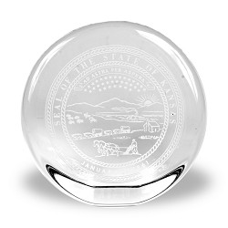 State Seal Paper Weight State Seal Rd Standup