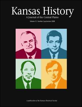 Kansas History - Vol. 31, No. 2,SUMMER 2008