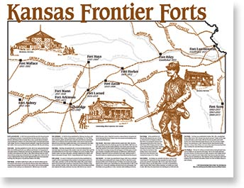 Map: Kansas Frontier Forts,233W50