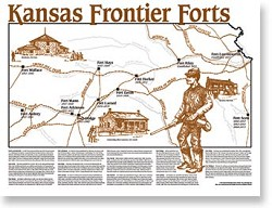 Map: Kansas Forts