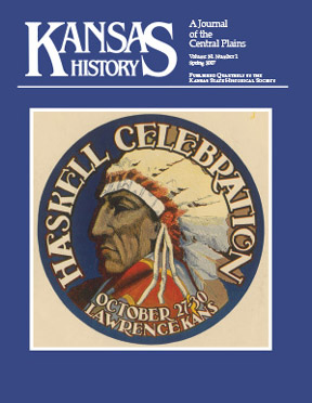 Kansas History - Vol. 30, No. 1,SPRING 2007