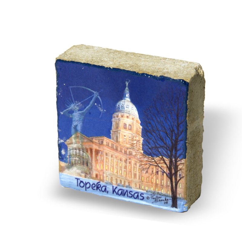 Capitol paperweight limestone,289