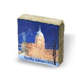 Capitol paperweight limestone
