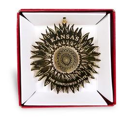 KS Sunflower Ornament