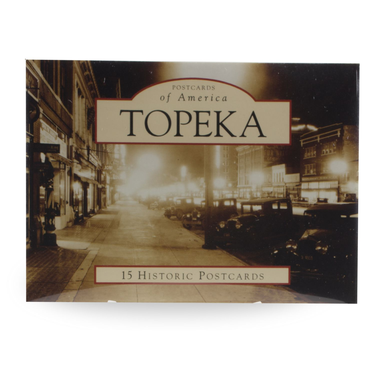 Topeka 15 Historic Postcards,AA-18-D2