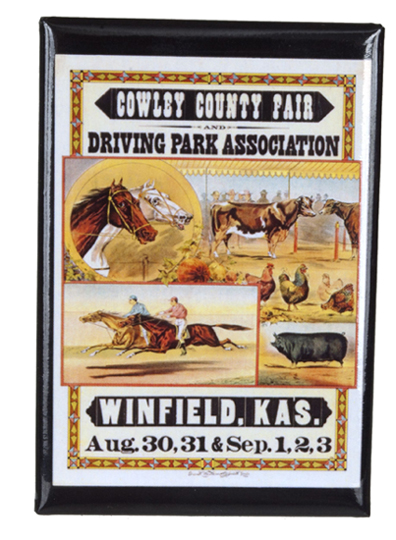 Cowley County Fair magnet