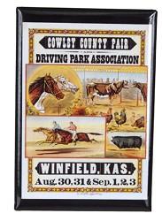 Cowley County Fair magnet