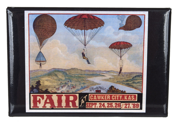 Cawker City Fair magnet