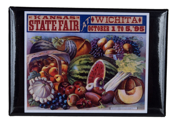 1895 Kansas State Fair magnet