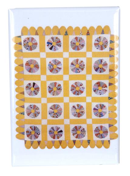 Dresden Plate Quilt magnet