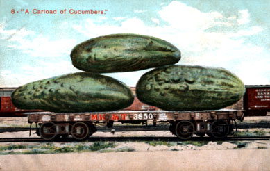 Carload of Cucumbers