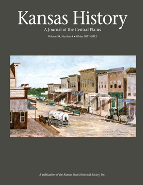 Kansas History - Vol. 34, No. 4,WINTER 2011-12