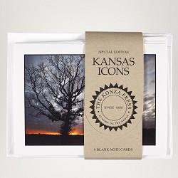 Kansas Sunset Note Cards