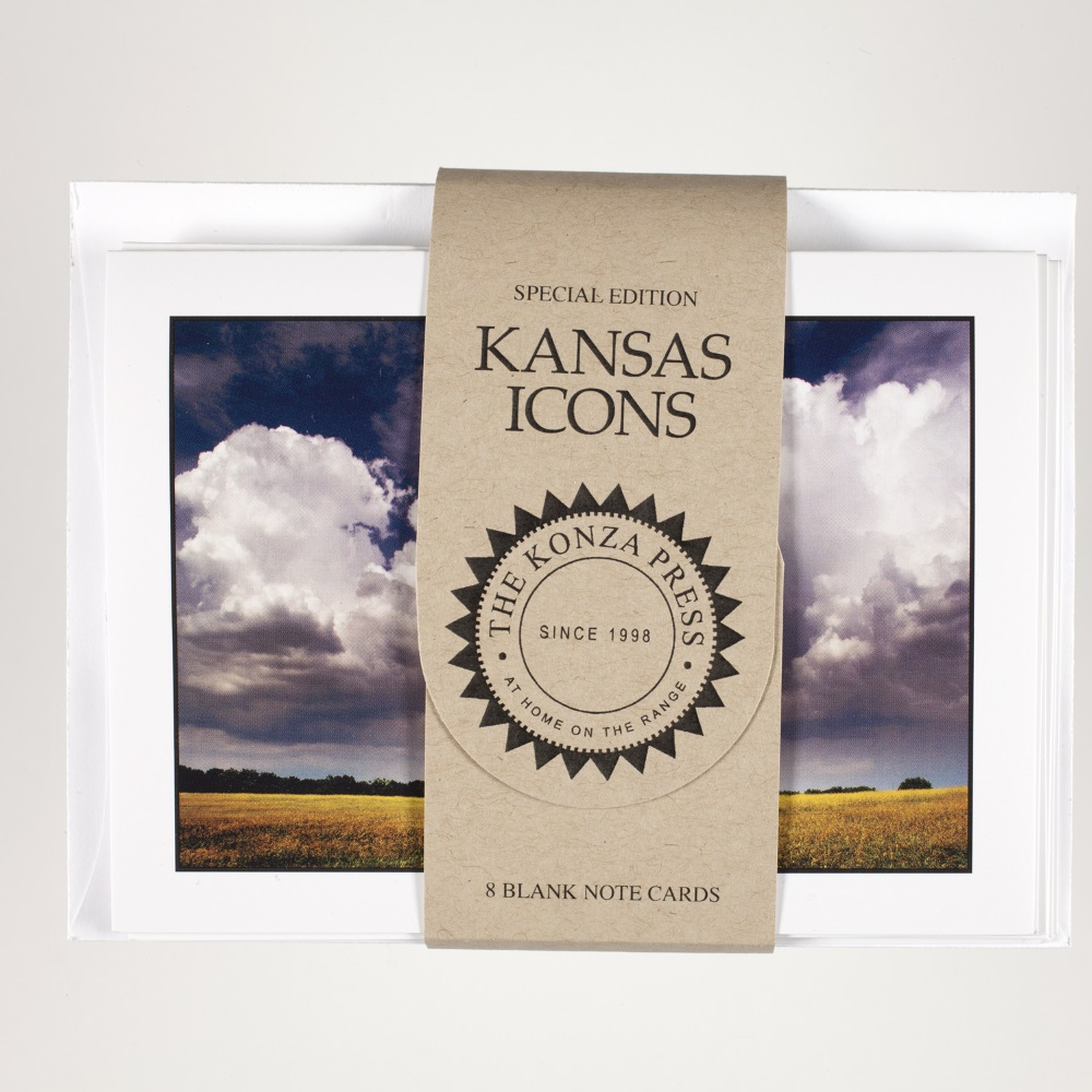 Kansas Thunderstorm Note Cards,TKP417