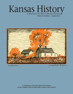 Kansas History - Vol. 35, No. 3,AUTUMN 2012