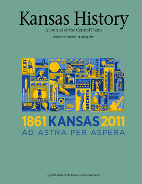 Kansas History - Vol. 34, No. 1,SPRING 2011
