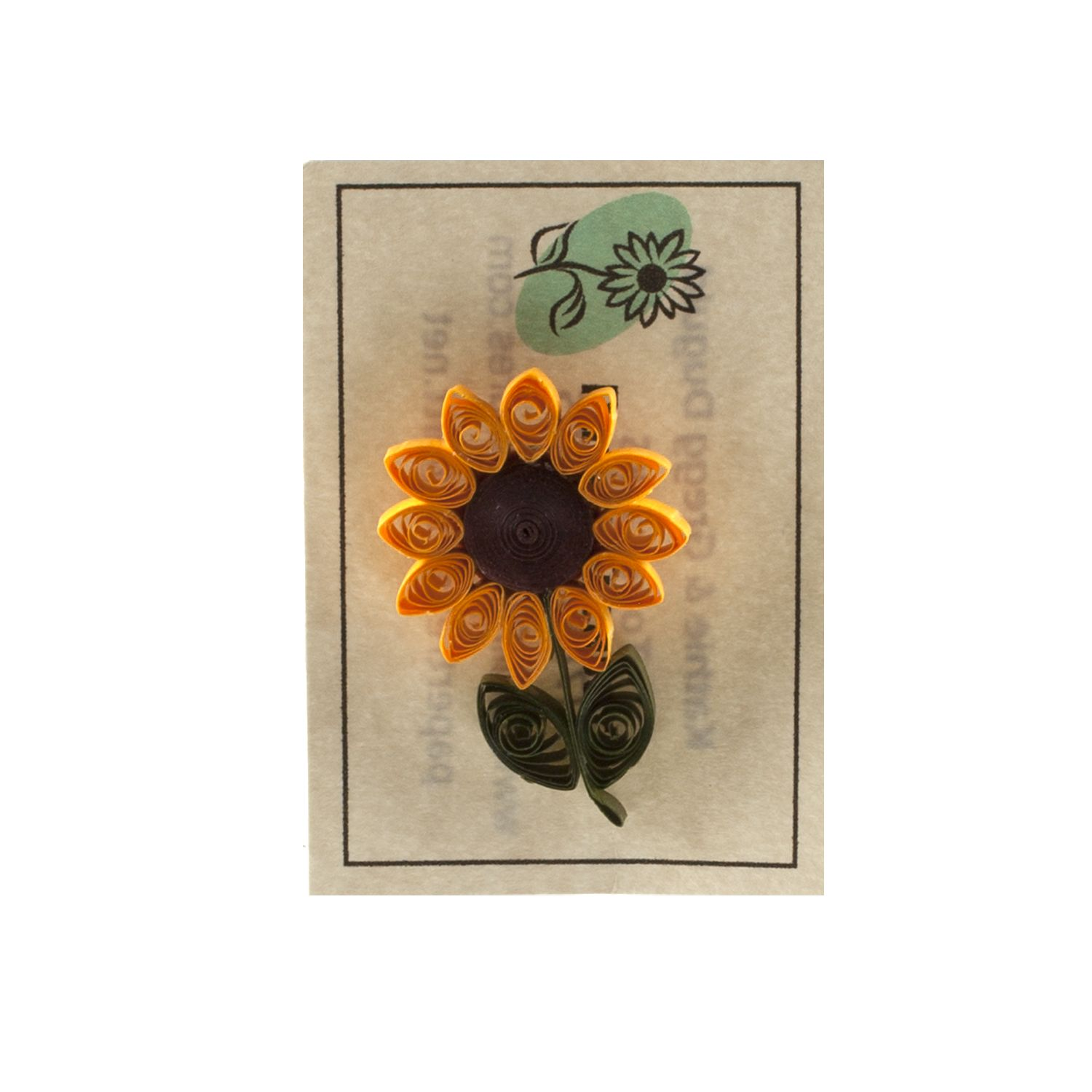 Small Sunflower Pin,KD202