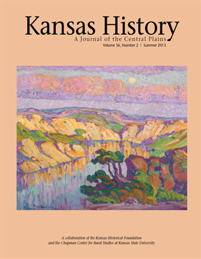 Kansas History - Vol. 36, No. 2,SUMMER 2013
