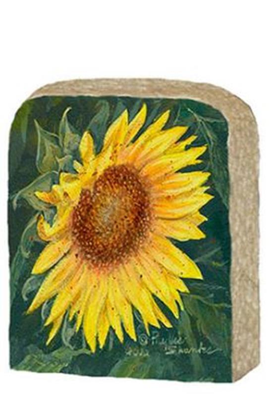 Single Sunflower Limestone,971