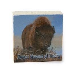Buffalo - KMH - Limestone Paperweight