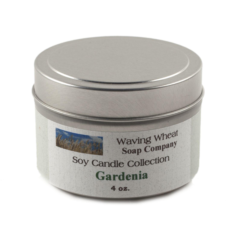 Gardenia Soy Candle,GAR4