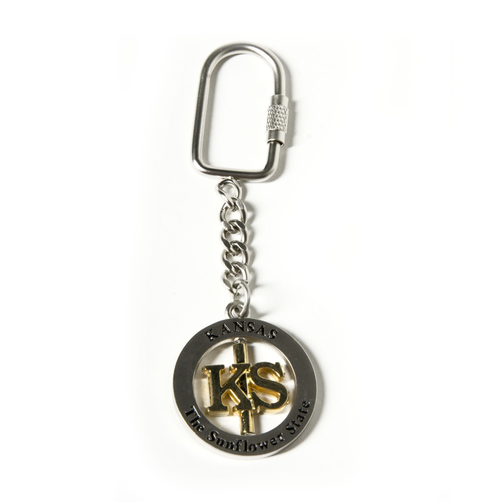 KS Spinner Key Ring,3037KS