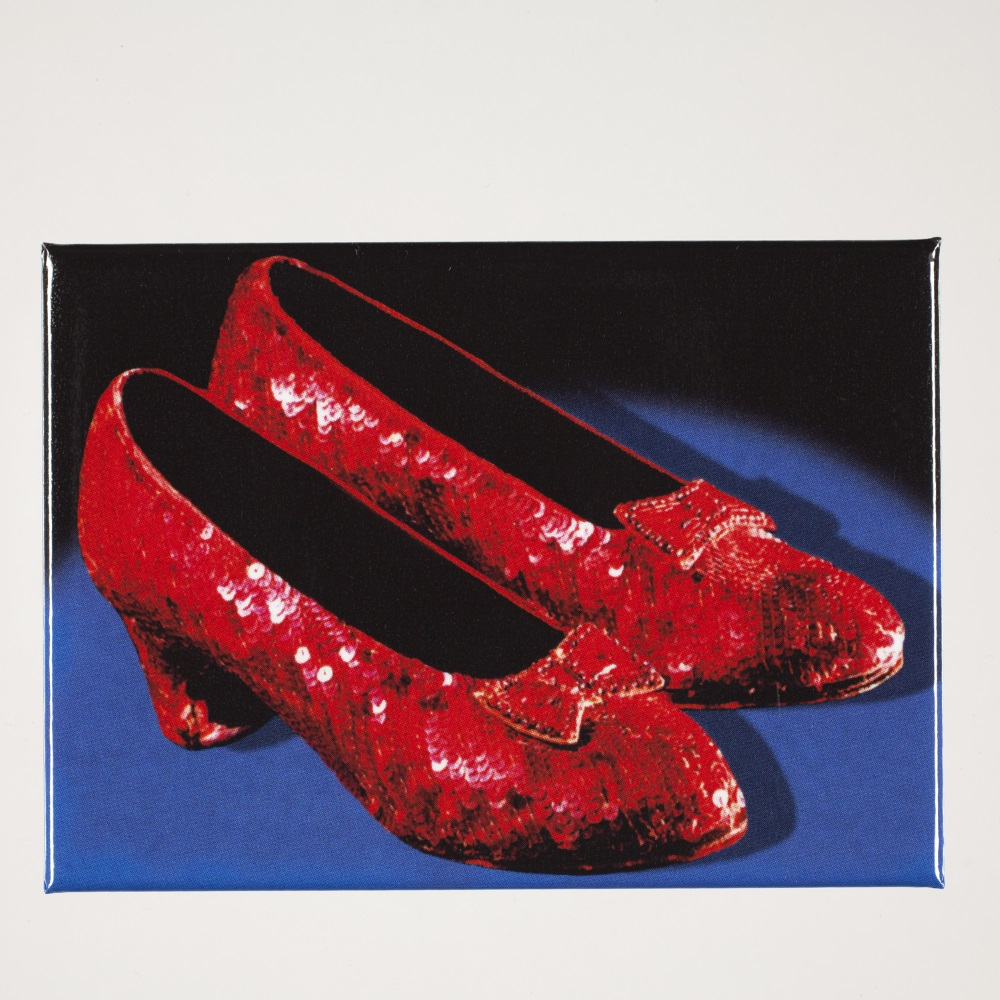 Ruby Slippers Magnet,BOY0824OZ